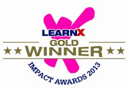 Gold Award at the APAC LearnX Impact Awards 2013