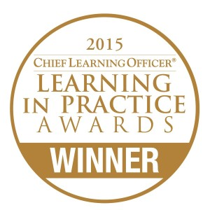 Chief Learning Officer Learning in Practice Award 2015